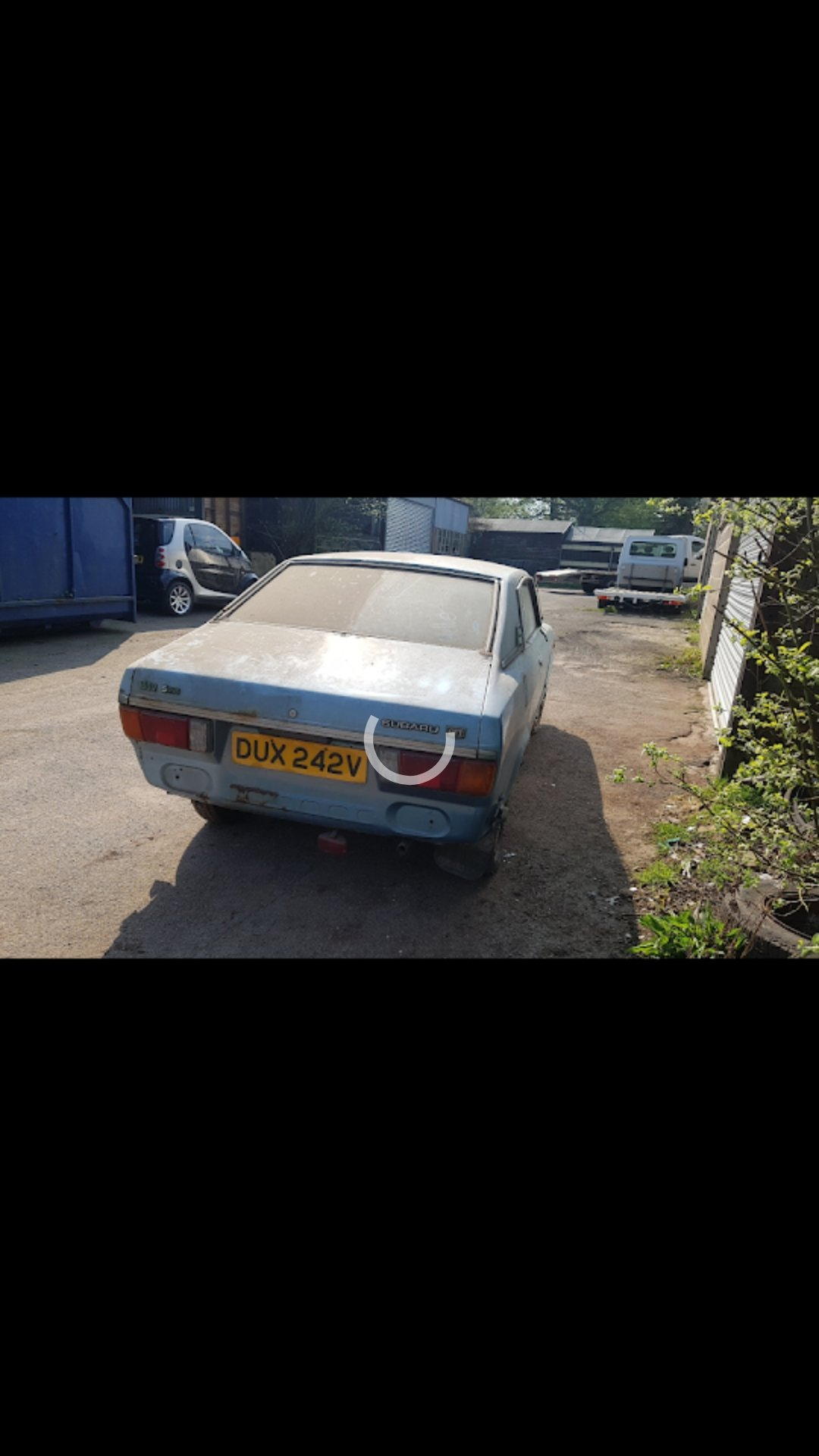 1979 Very rare subaru gft coupe for restoration For Sale (picture 2 of 6)