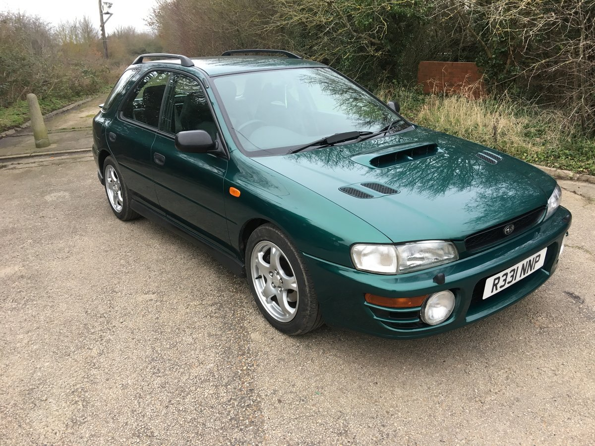1997 Subaru Impreza Turbo 2000 AWD Wagon SOLD (picture 1 of 6)