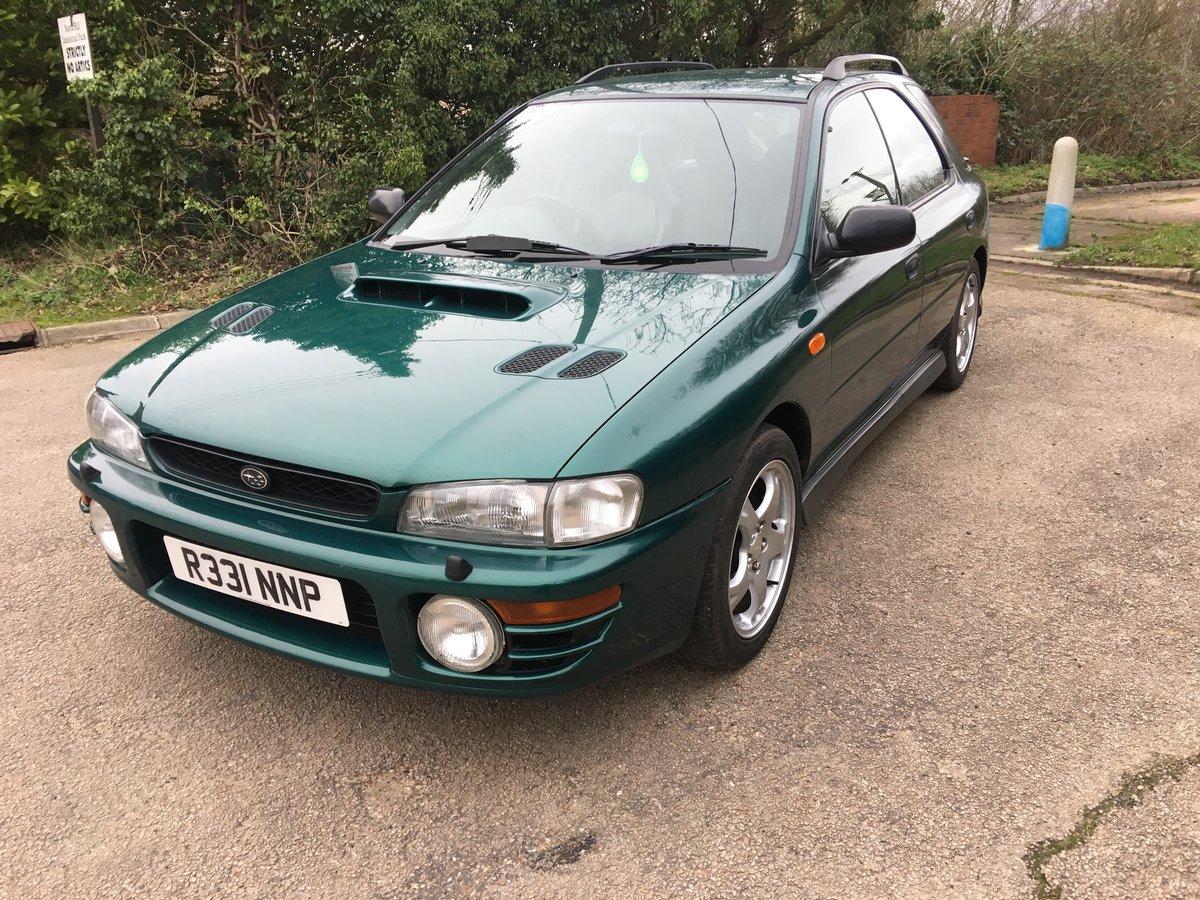 1997 Subaru Impreza Turbo 2000 AWD Wagon SOLD (picture 3 of 6)
