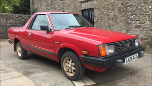 1993 Subaru MV Brat - MOT - VGC - BEST AVAILABLE.