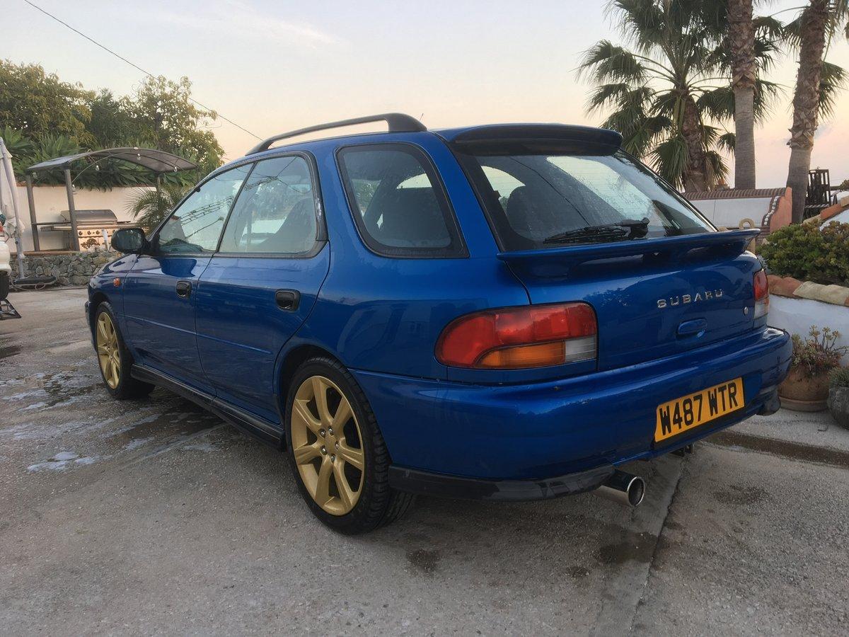 2000 Subaru Impreza Turbo Wagon For Sale (picture 5 of 6)