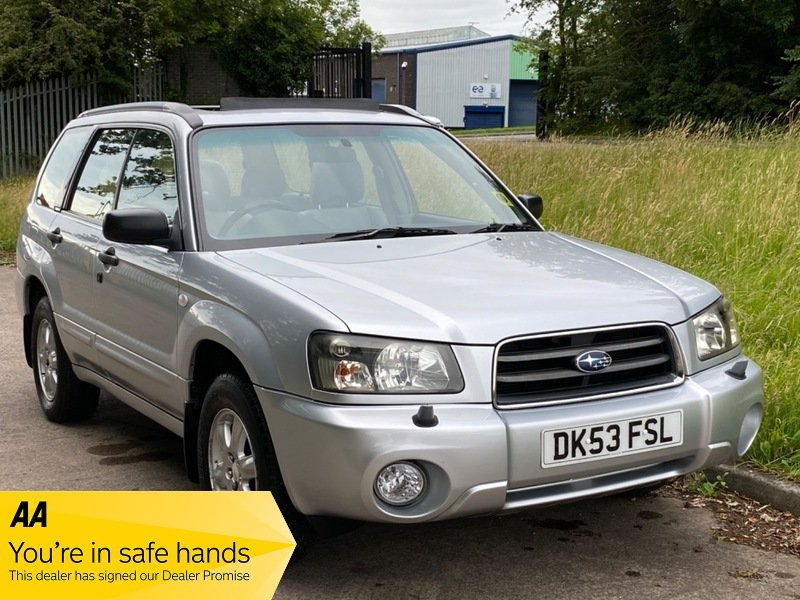 2003 Subaru Forester X All Weather Auto, 58,000 miles Exceptional For Sale (picture 1 of 6)