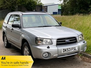 Subaru Forester X All Weather Auto, 58,000 miles Exceptional