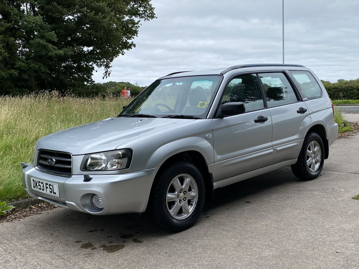 2003 Subaru Forester X All Weather Auto, 58,000 miles Exceptional For Sale (picture 4 of 6)