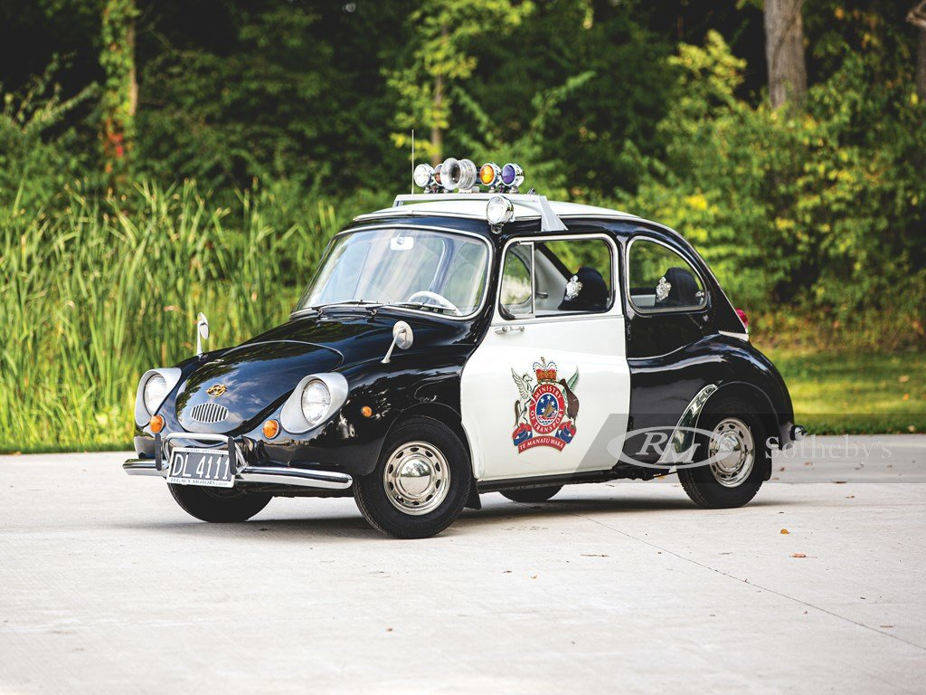 1970 Subaru 360 Police Car  For Sale by Auction (picture 1 of 6)