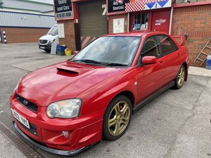 2003 Rare Red WRX Turbo Low Mileage FSH