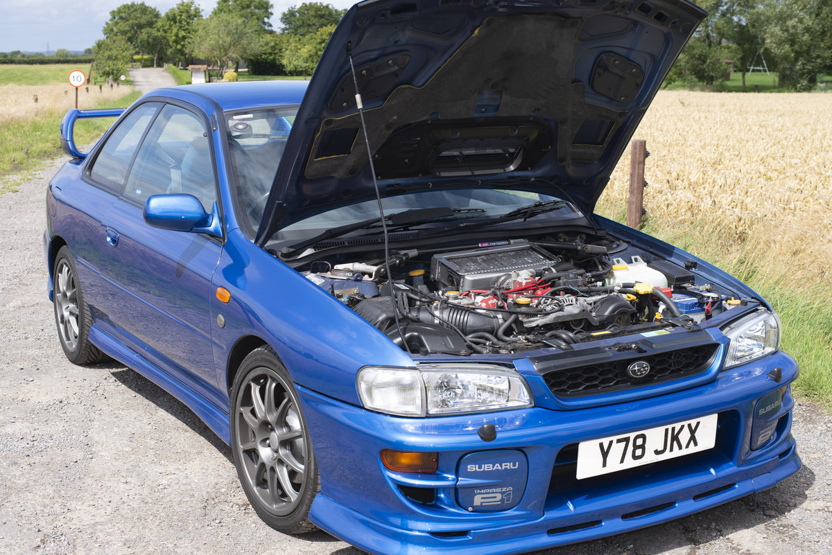 2001 Subaru Impreza 2.0 P1 Limited Edition 2dr For Sale (picture 4 of 6)