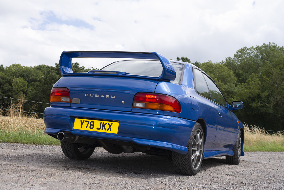 2001 Subaru Impreza 2.0 P1 Limited Edition 2dr For Sale (picture 5 of 6)