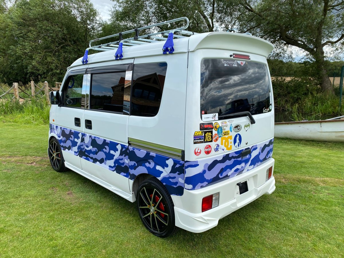 2008 SUBARU SAMBAR SUZUKI EVERY CAMPER * CUSTOM KEI CAR *  SOLD (picture 2 of 6)