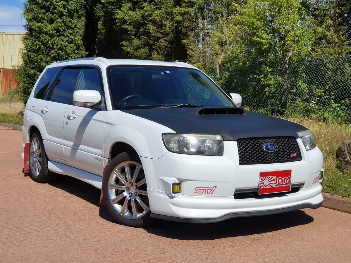 2005 JDM subaru forester sti 2.5 turbo For Sale (picture 1 of 6)