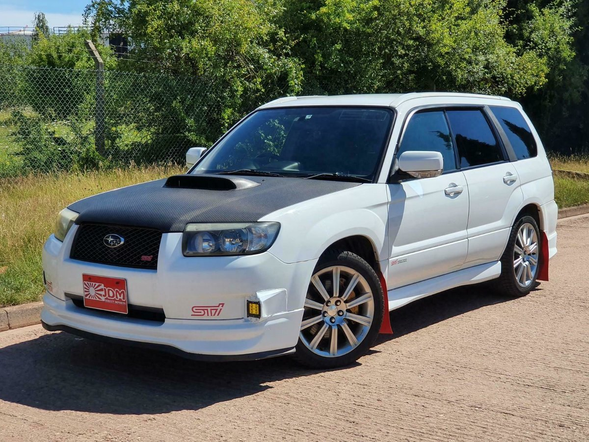 2005 JDM subaru forester sti 2.5 turbo For Sale (picture 2 of 6)