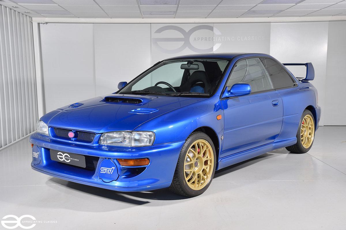 1999 Original & Stunning Subaru Impreza 22B - *270 Miles* SOLD (picture 2 of 6)