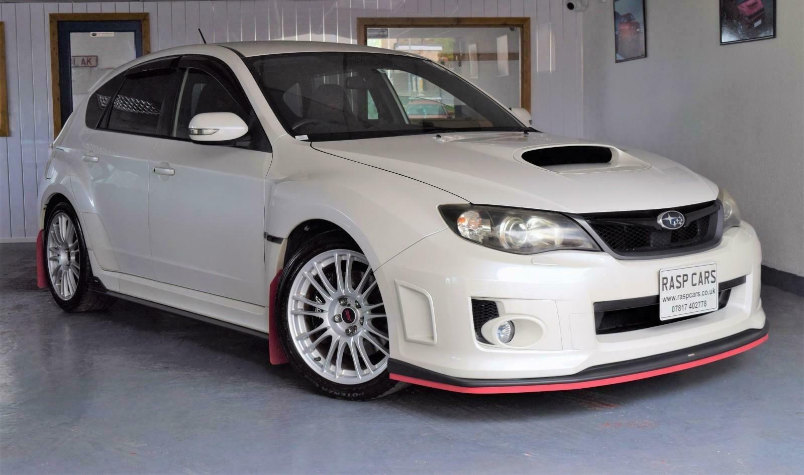 2009 Impreza 2.0 WRX STi JDM Import Pearl White For Sale (picture 1 of 6)
