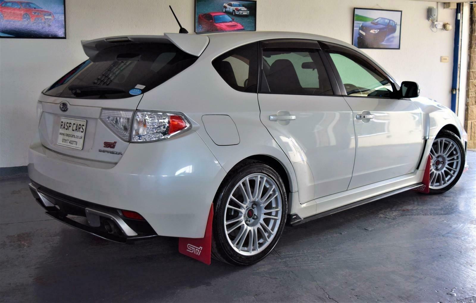 2009 Impreza 2.0 WRX STi JDM Import Pearl White For Sale (picture 2 of 6)