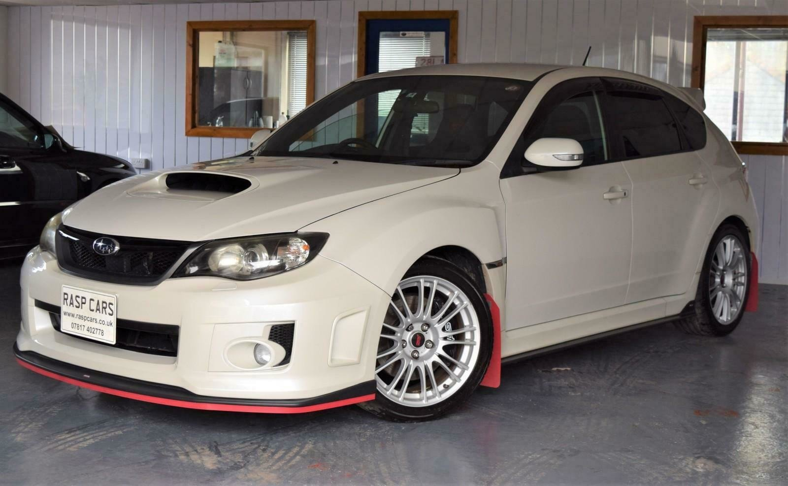 2009 Impreza 2.0 WRX STi JDM Import Pearl White For Sale (picture 3 of 6)