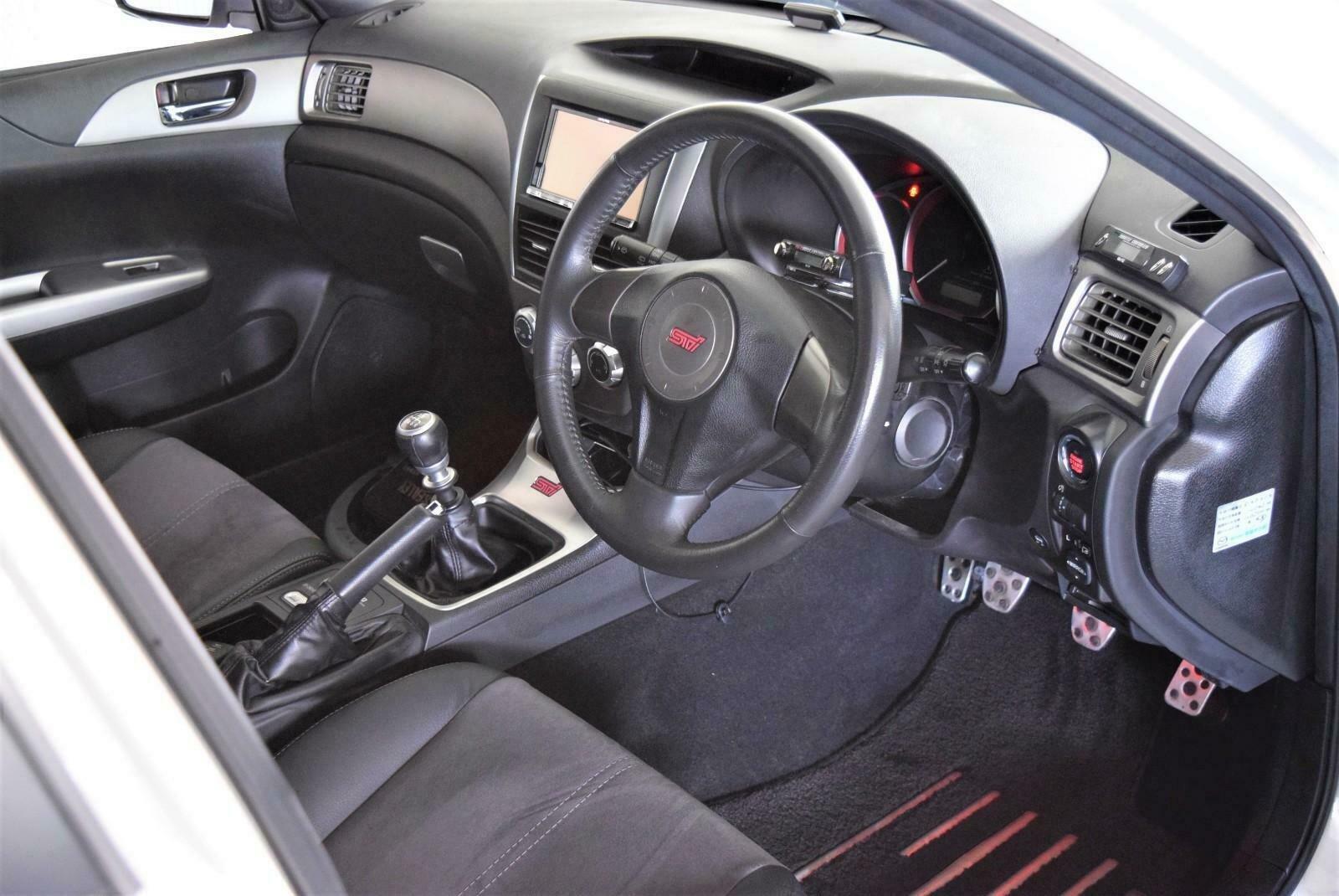 2009 Impreza 2.0 WRX STi JDM Import Pearl White For Sale (picture 6 of 6)