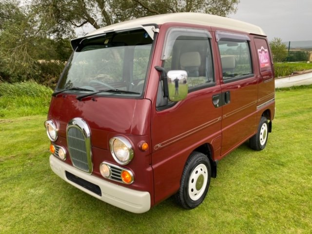 1998 SUBARU SAMBAR RARE CLASSIC EDITION 4X4 * ONLY 40000 MILES *  For Sale (picture 1 of 6)