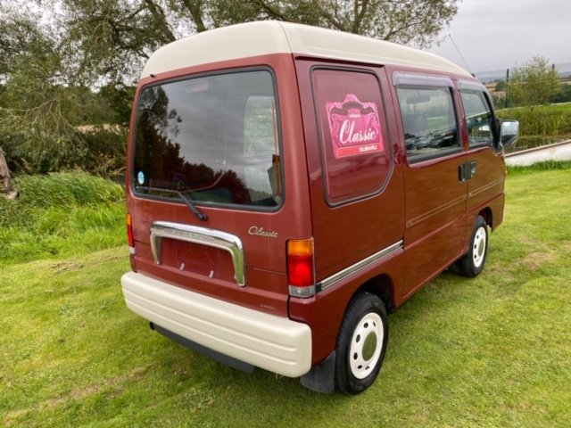 1998 SUBARU SAMBAR RARE CLASSIC EDITION 4X4 * ONLY 40000 MILES *  For Sale (picture 2 of 6)