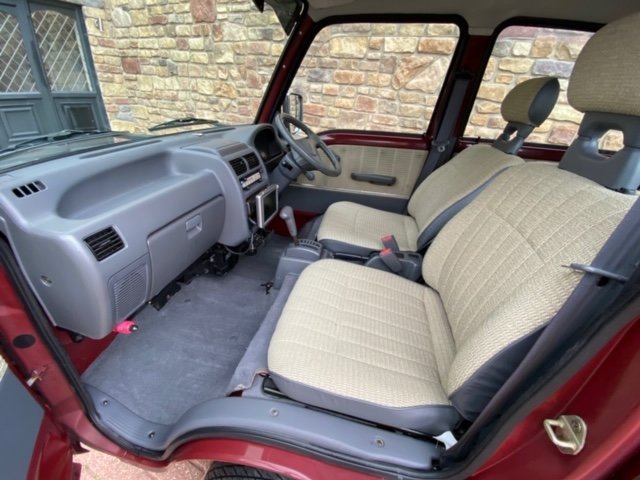1998 SUBARU SAMBAR RARE CLASSIC EDITION 4X4 * ONLY 40000 MILES *  For Sale (picture 3 of 6)