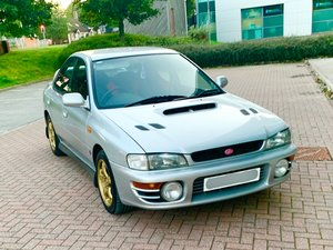 Subaru Impreza STI 1996 GC8 Version 3 saloon