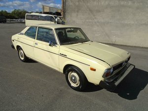 SUBARU 1600 DL A26 AUTO LHD COUPE (1978) YELLOW!