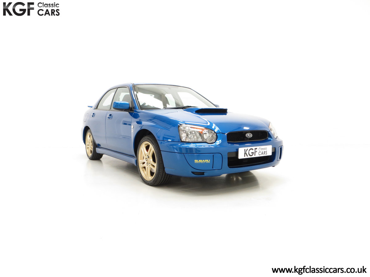 2005 A Special Edition UK Subaru Impreza WRX 300 SOLD (picture 1 of 24)