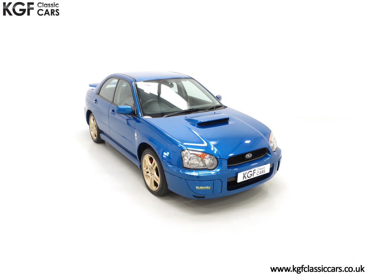 2005 A Special Edition UK Subaru Impreza WRX 300 SOLD (picture 2 of 24)