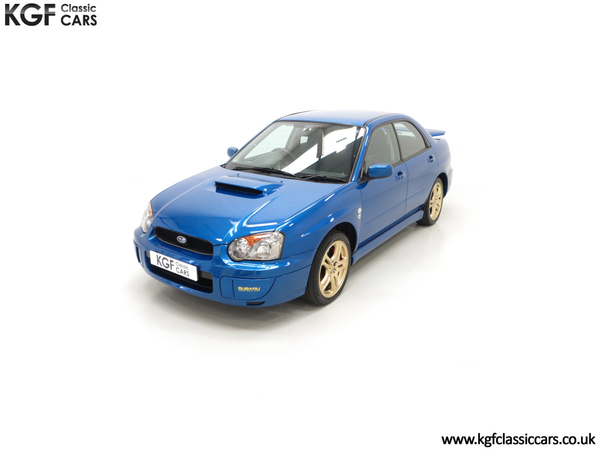 2005 A Special Edition UK Subaru Impreza WRX 300 SOLD (picture 5 of 24)