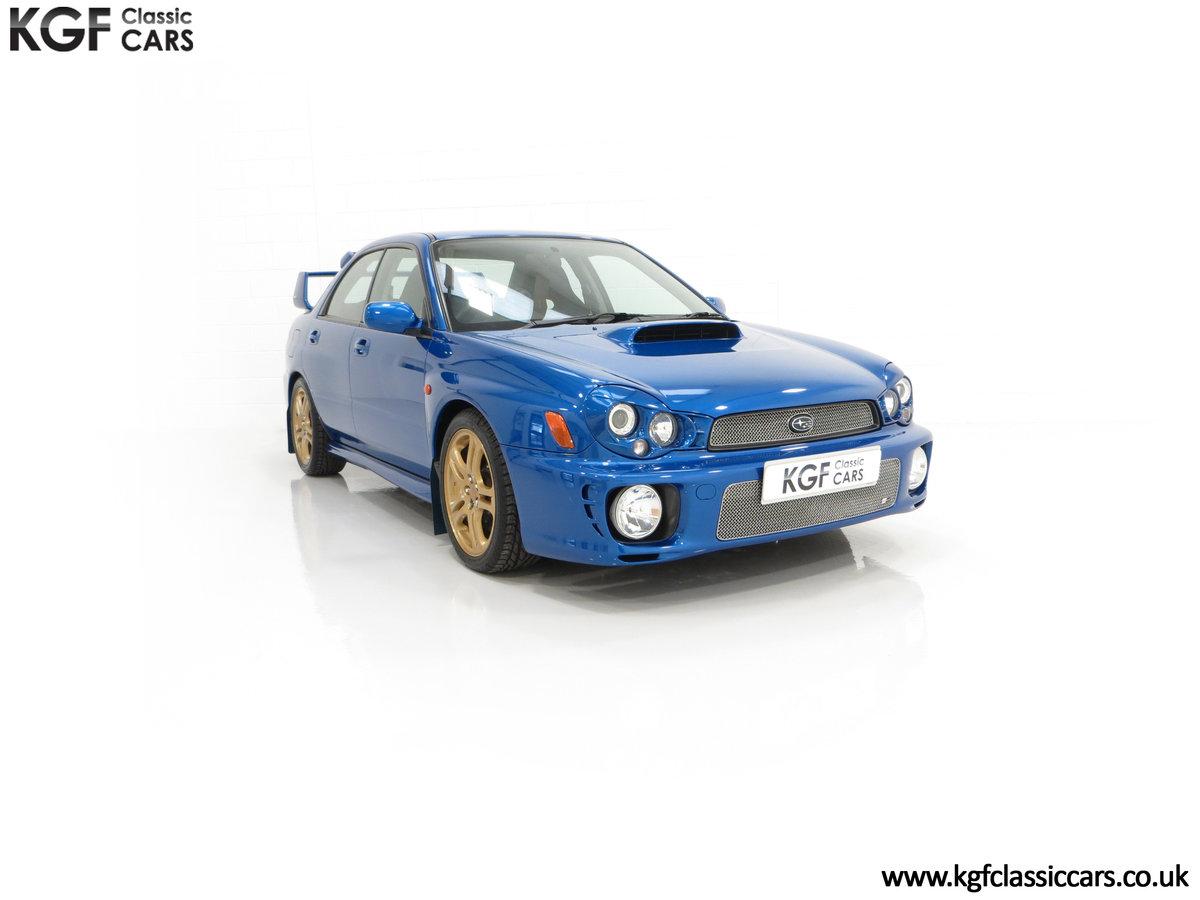 2002 A Pristine Subaru Impreza WRX with Just 16,671 Miles For Sale (picture 1 of 24)