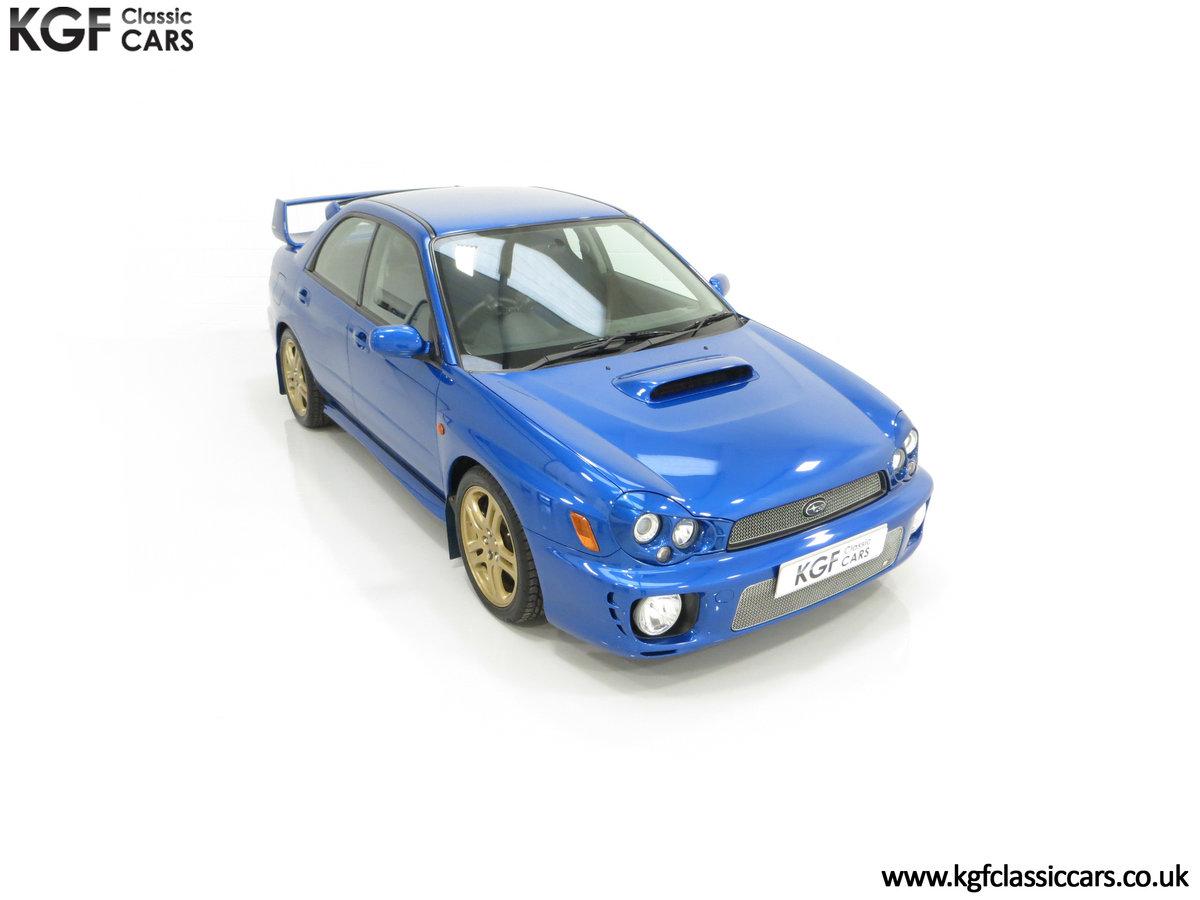 2002 A Pristine Subaru Impreza WRX with Just 16,671 Miles For Sale (picture 2 of 24)