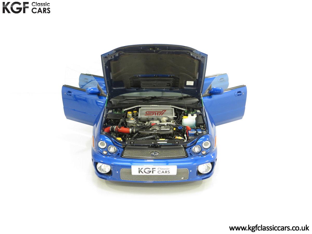 2002 A Pristine Subaru Impreza WRX with Just 16,671 Miles For Sale (picture 4 of 24)