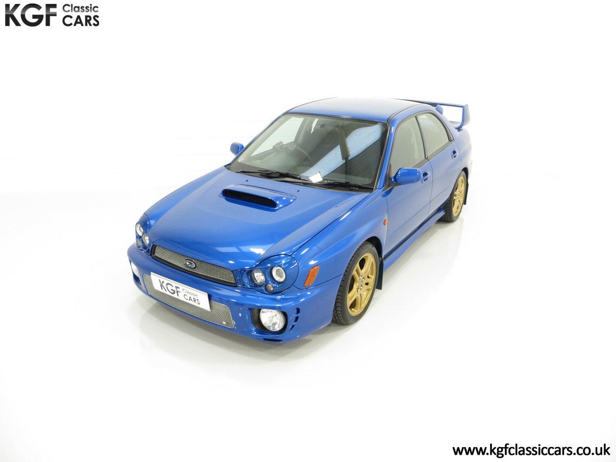 2002 A Pristine Subaru Impreza WRX with Just 16,671 Miles For Sale (picture 5 of 24)