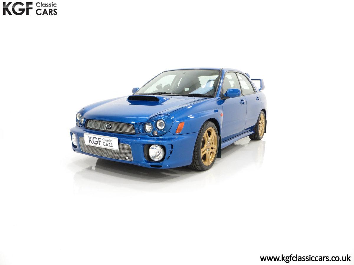 2002 A Pristine Subaru Impreza WRX with Just 16,671 Miles For Sale (picture 6 of 24)