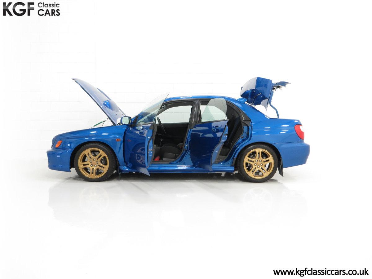 2002 A Pristine Subaru Impreza WRX with Just 16,671 Miles For Sale (picture 7 of 24)