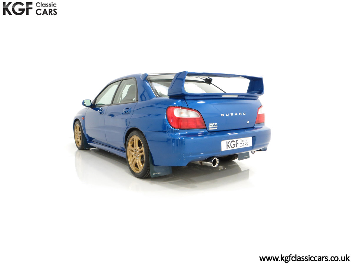 2002 A Pristine Subaru Impreza WRX with Just 16,671 Miles For Sale (picture 8 of 24)