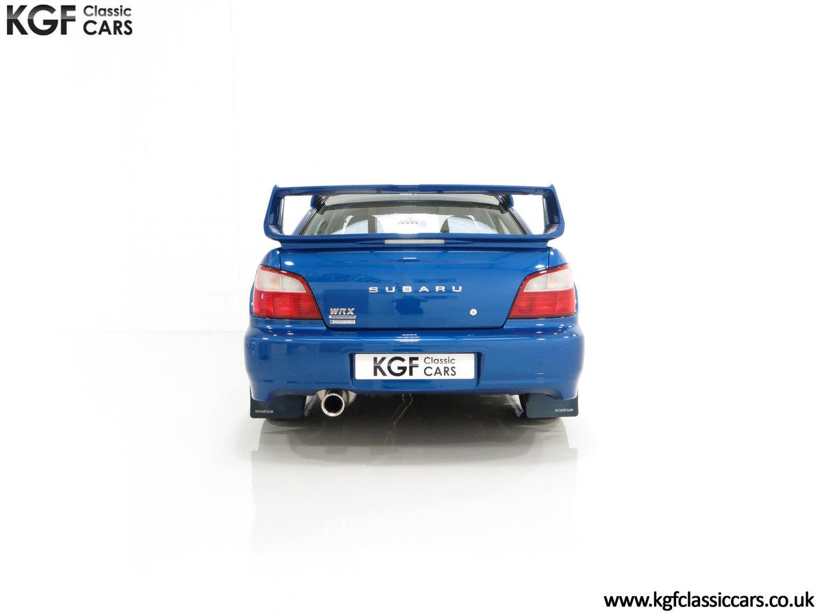 2002 A Pristine Subaru Impreza WRX with Just 16,671 Miles For Sale (picture 10 of 24)
