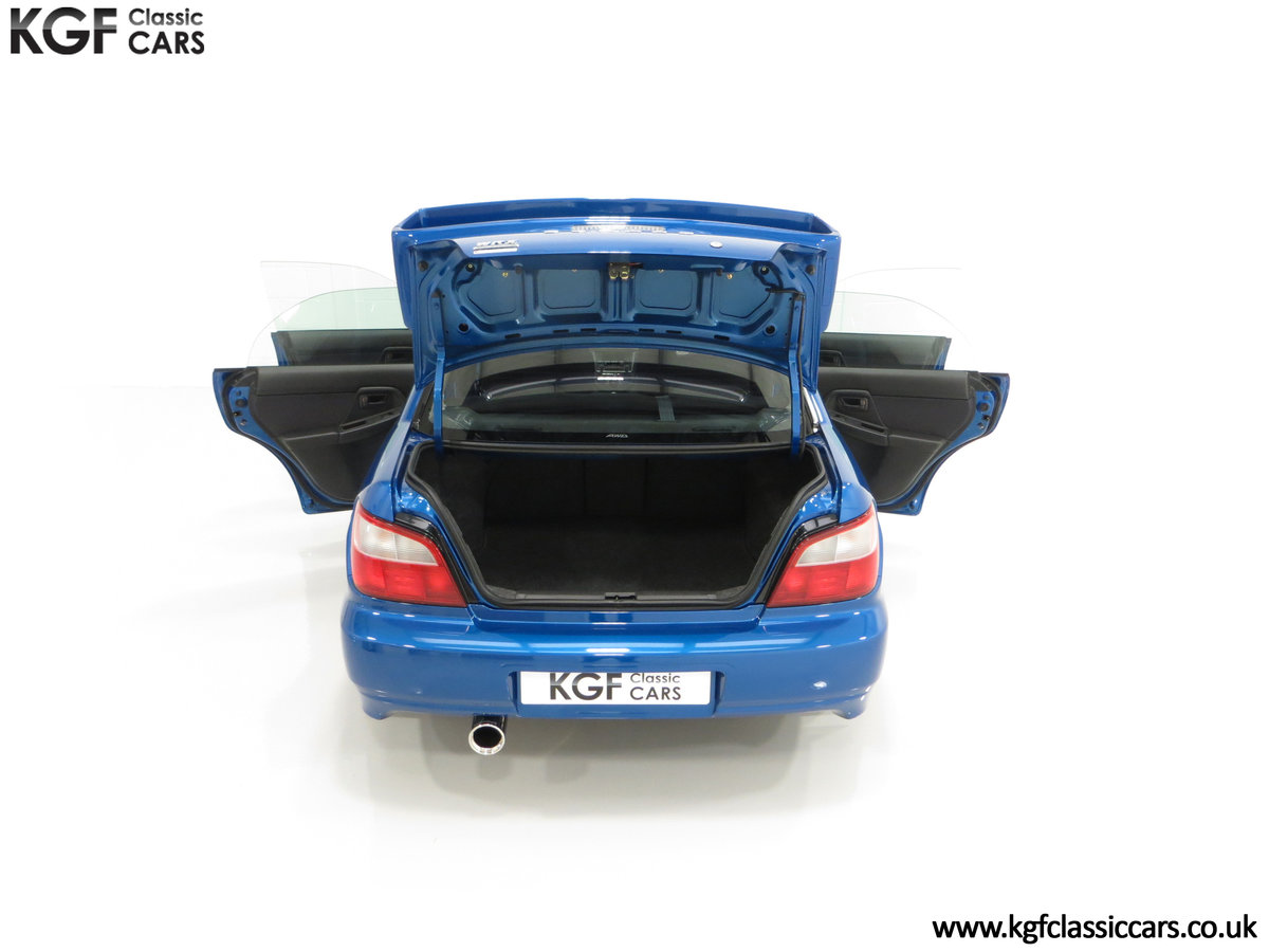 2002 A Pristine Subaru Impreza WRX with Just 16,671 Miles For Sale (picture 11 of 24)