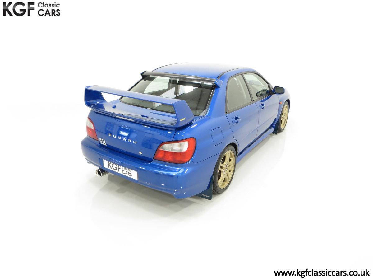 2002 A Pristine Subaru Impreza WRX with Just 16,671 Miles For Sale (picture 12 of 24)