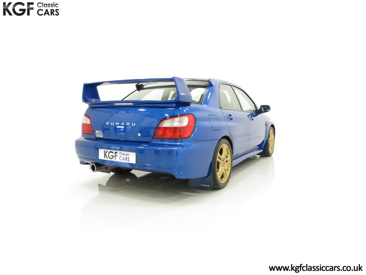 2002 A Pristine Subaru Impreza WRX with Just 16,671 Miles For Sale (picture 13 of 24)