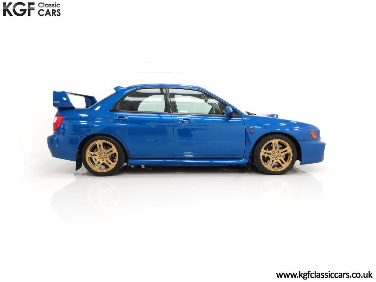 2002 A Pristine Subaru Impreza WRX with Just 16,671 Miles For Sale (picture 14 of 24)