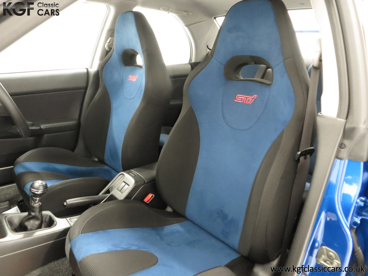 2002 A Pristine Subaru Impreza WRX with Just 16,671 Miles For Sale (picture 20 of 24)