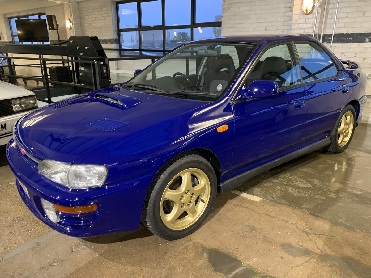 1996 Subaru Impreza WRX V Limited - low-mileage & good underside For Sale (picture 1 of 22)