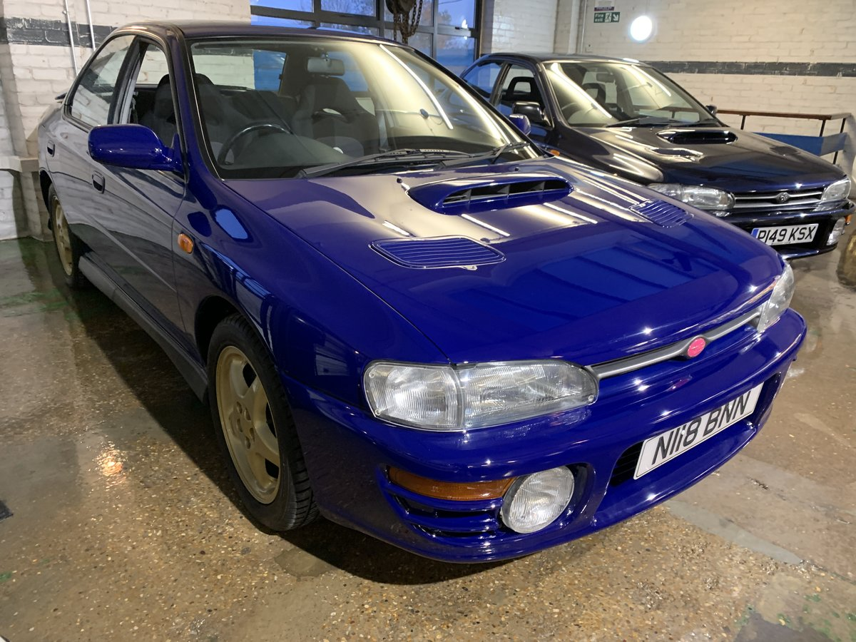 1996 Subaru Impreza WRX V Limited - low-mileage & good underside For Sale (picture 3 of 22)