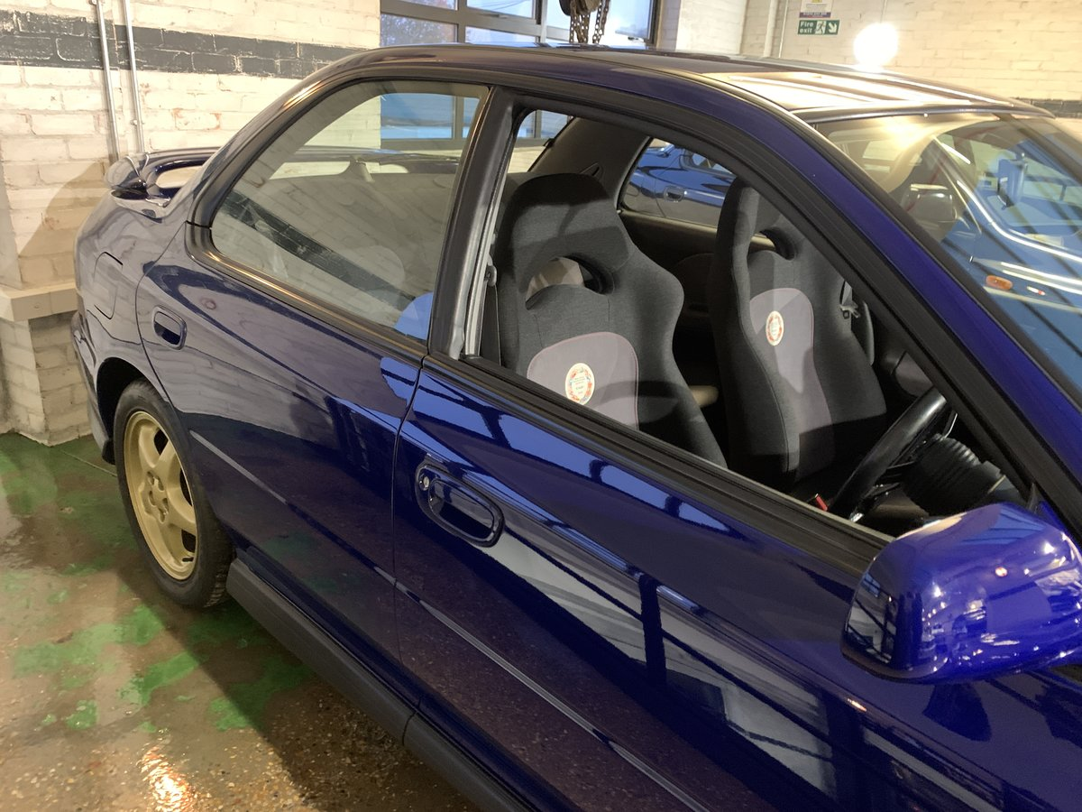 1996 Subaru Impreza WRX V Limited - low-mileage & good underside For Sale (picture 5 of 22)