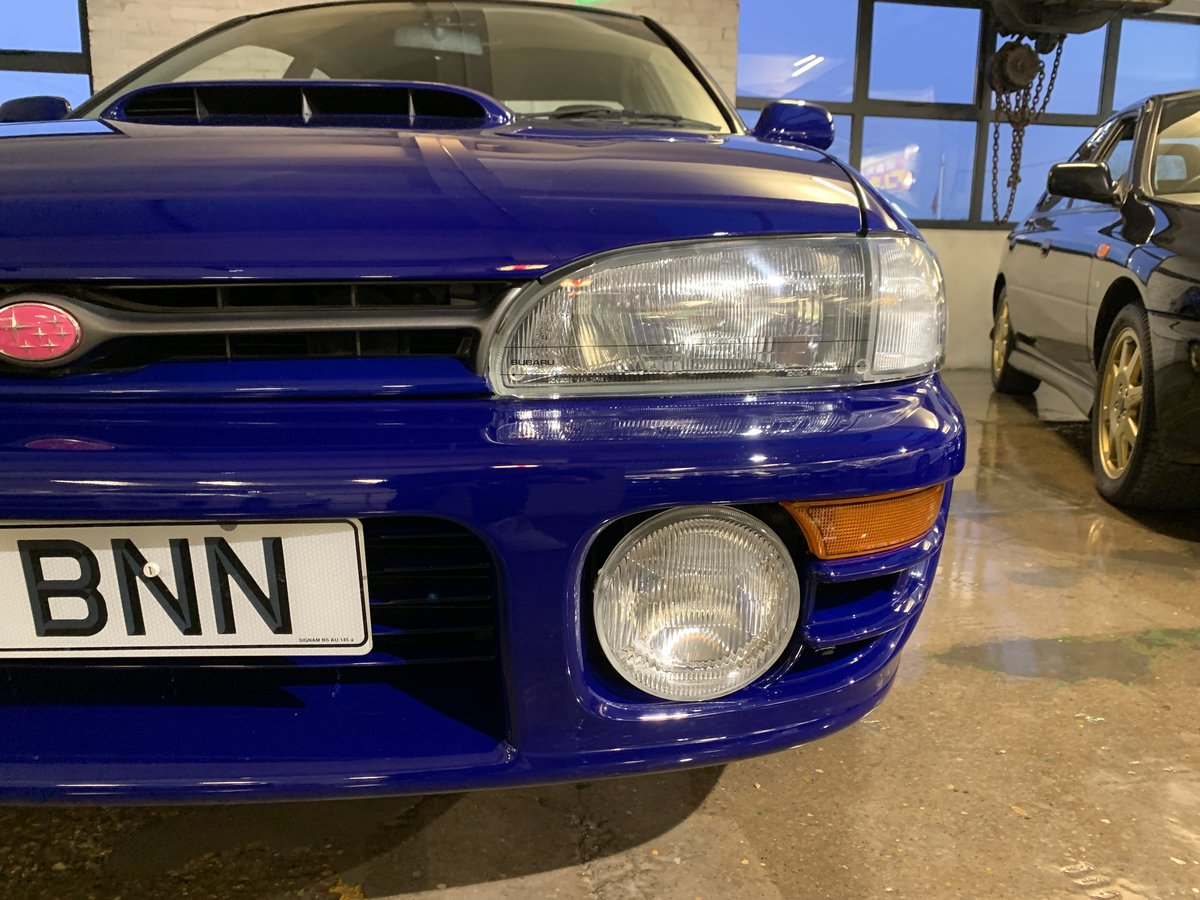 1996 Subaru Impreza WRX V Limited - low-mileage & good underside For Sale (picture 7 of 22)