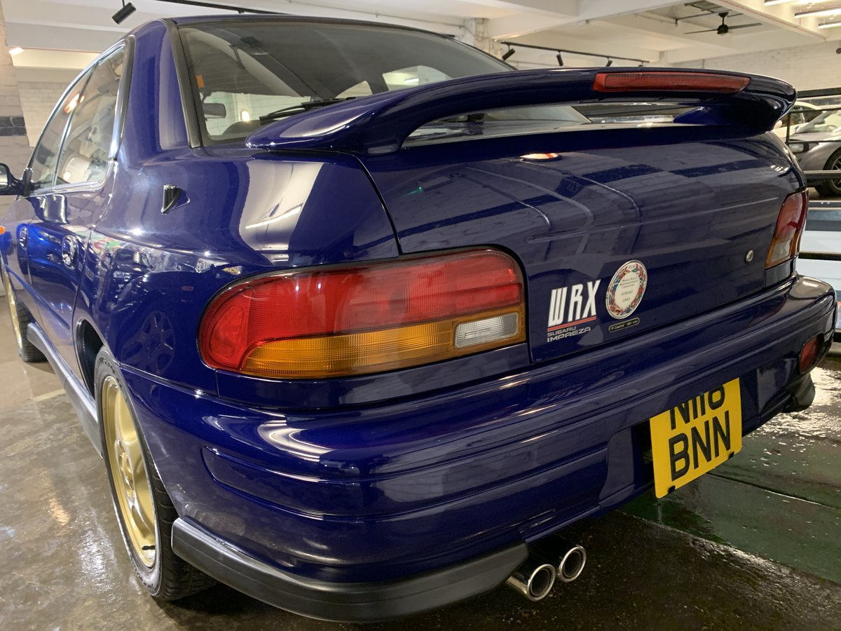 1996 Subaru Impreza WRX V Limited - low-mileage & good underside For Sale (picture 9 of 22)