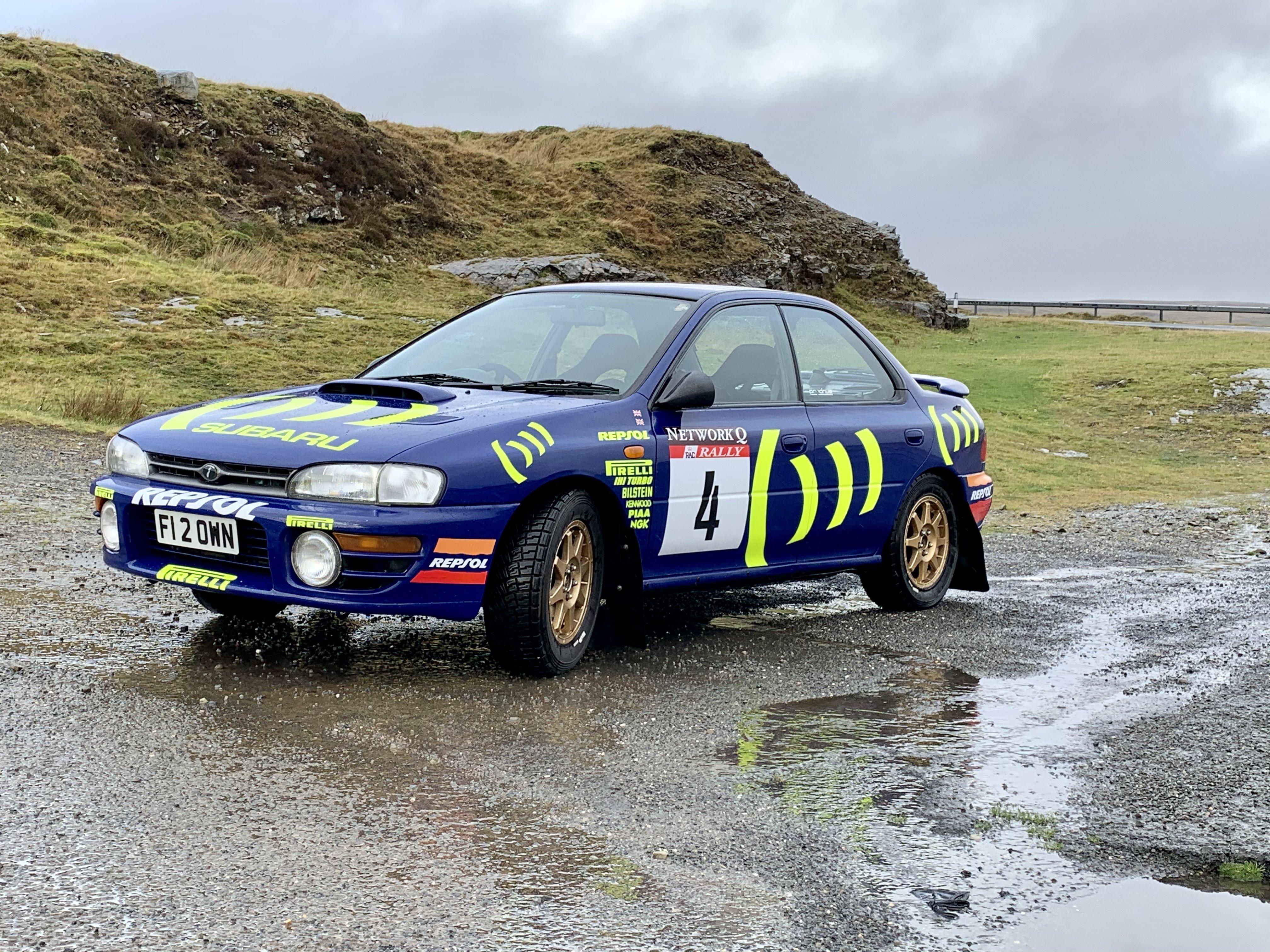 Colin McRae Inspired Subaru Impreza