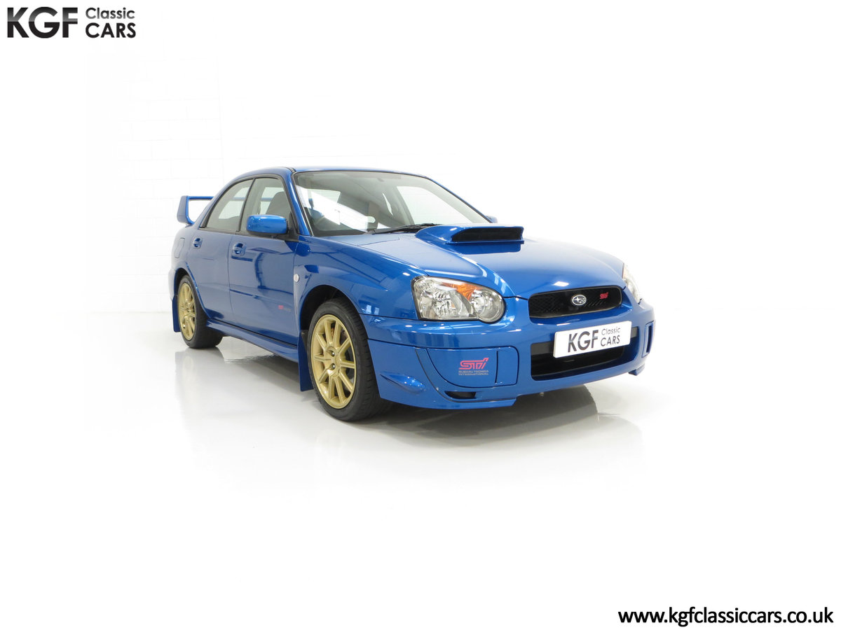 2005 A Subaru Impreza WRX STi Type UK with Only 13,968 Miles For Sale (picture 1 of 24)