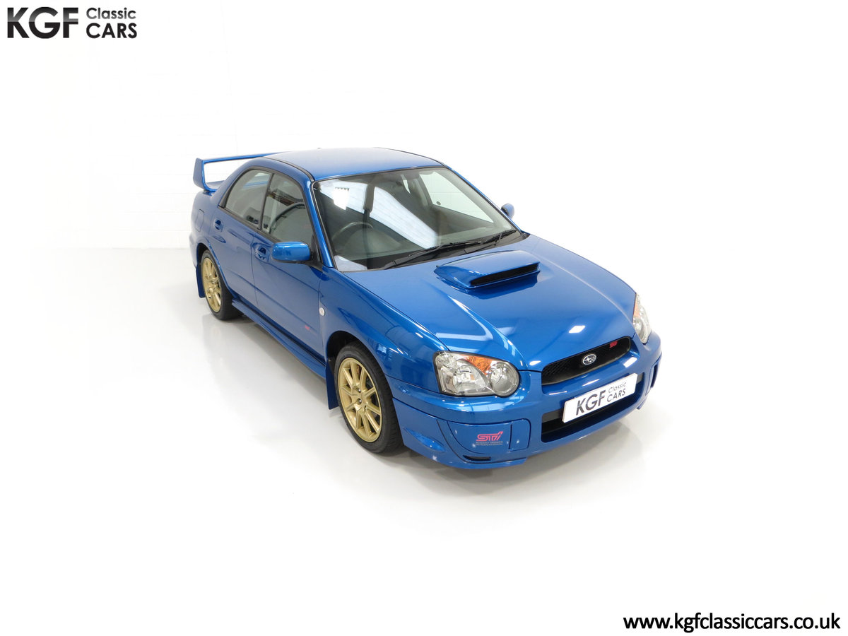 2005 A Subaru Impreza WRX STi Type UK with Only 13,968 Miles For Sale (picture 2 of 24)