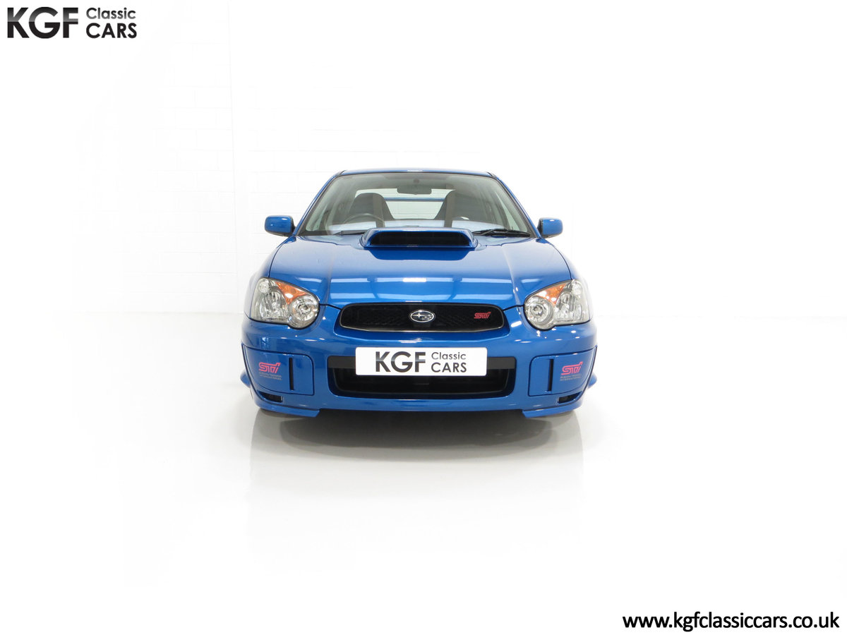 2005 A Subaru Impreza WRX STi Type UK with Only 13,968 Miles For Sale (picture 3 of 24)